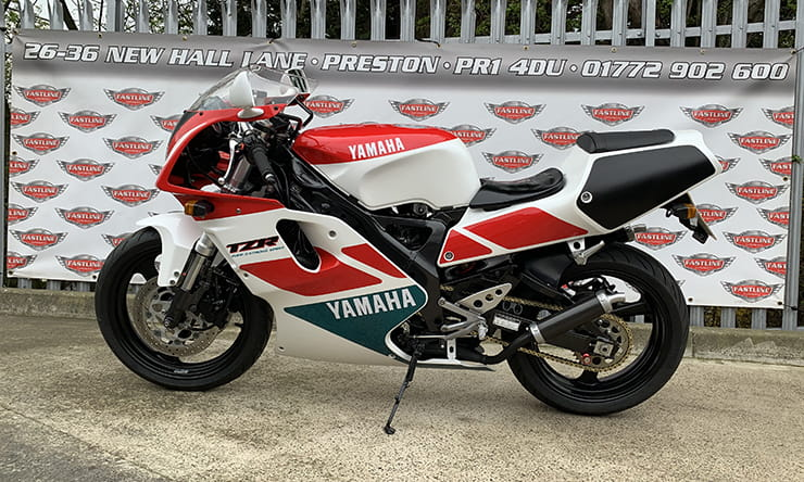 Classic bike review 1991 Yamaha TZR250R