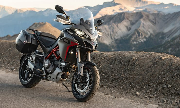 Long-distance version of the Ducati Multistrada 1260 joins the 2020 range