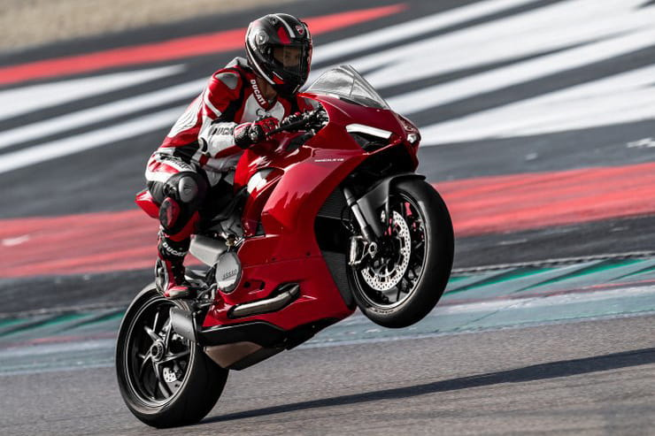 Under the skin this is a reworked Ducati Panigale 959, it's the 2020 Panigale V2