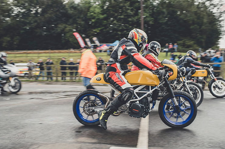 Bike Shed's race event went large for 2019. BikeSocial built a bike… it lasted one lap