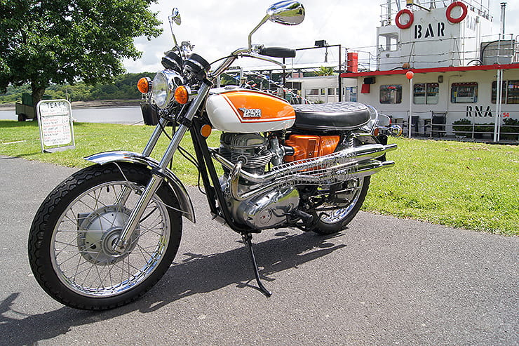 1971 BSA Firebird Scrambler review