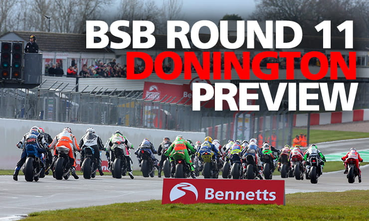BSB2019 | Donington Park Schedule and TV Times