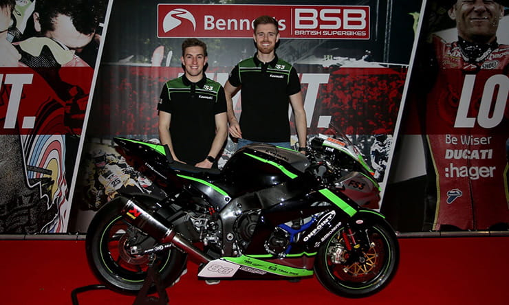 BSB2020 Lee Jackson signs for FS3 Kawasaki