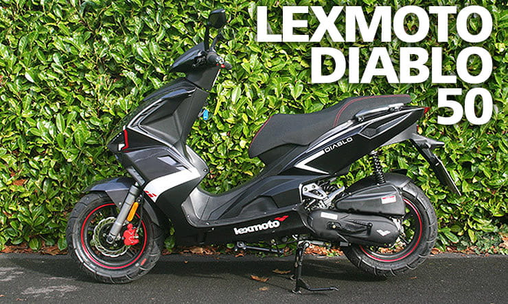 Lexmoto Diablo 50 tested – restricted sports moped, learner legal, slow but fun