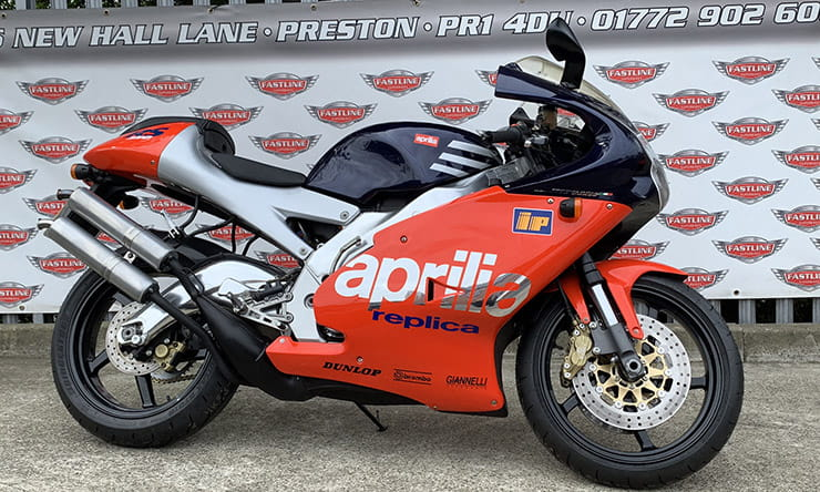 Aprilia's RS250 was the last and best of the two-stroke race replicas. Buy one now while you still can