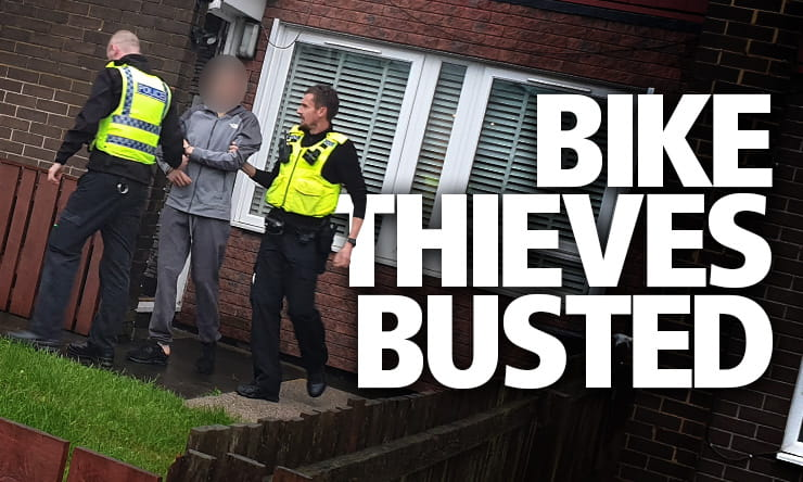 Police in Northumbria have had a major crackdown on motorcycle theft thanks to Operation Benelli.