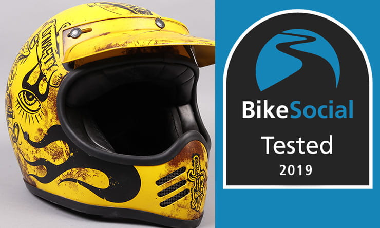 Tested: Premier MX BD Retro motorcycle helmet review