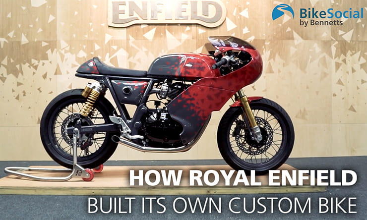 Royal Enfield Nought Tea GT