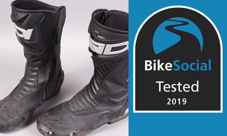 Tested: SIDI Performer Gore-Tex waterproof motorcycle boots review