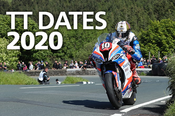 Isle of Man Tourist Trophy TT dates 2020