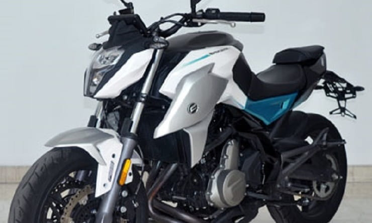 Updated CFMoto 650NK and 400NK images leaked