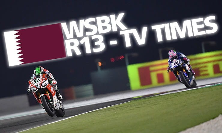 World Superbikes [ Qatar ] - Weekend TV times | BikeSocial