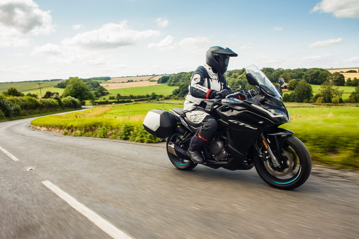 First review of the CFMOTO 650GT – the Chinese brand's mid-capacity sports tourer with a £5799 price, can its ride quality match the price?