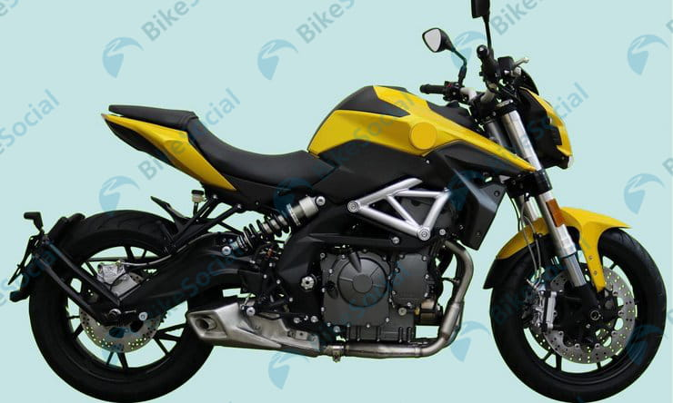 Benelli patents another new TNT 600 design