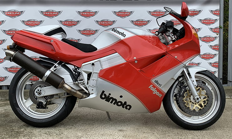 Bimota's superbikes mixed Japanese performance, reliability and electrics with a hand-built racing chassis and Italian styling. The YB10 is BikeSocial's favourite