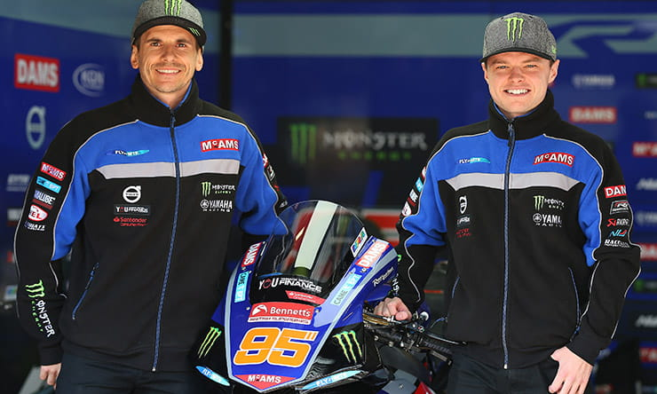 Mackenzie & O'Halloran to remain with McAMS Yamaha for 2020