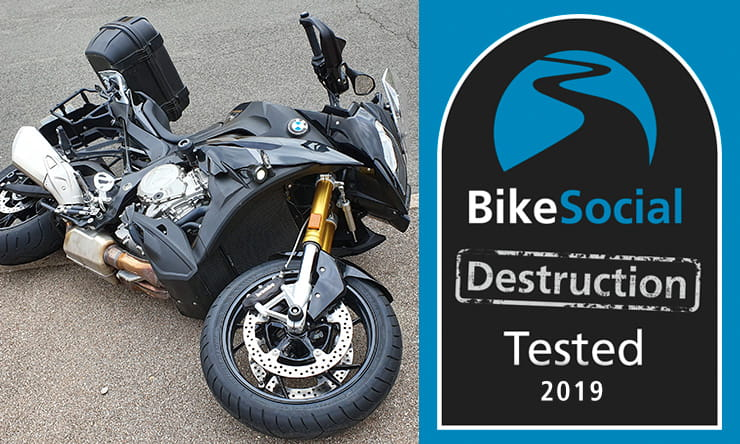Tested: Evotech-Performance BMW S1000 XR crash protection review