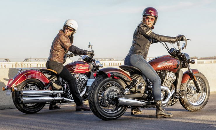 Indian Scout 100th Anniversary and Bobber Twenty