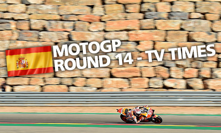 MotoGP Aragon Preview TV TImes Results