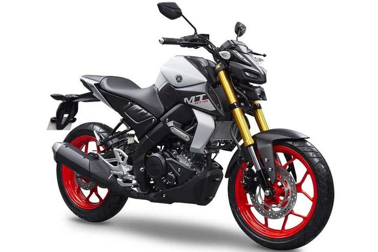 There's a new Yamaha MT-125 being launched in October – but you can see it here right now