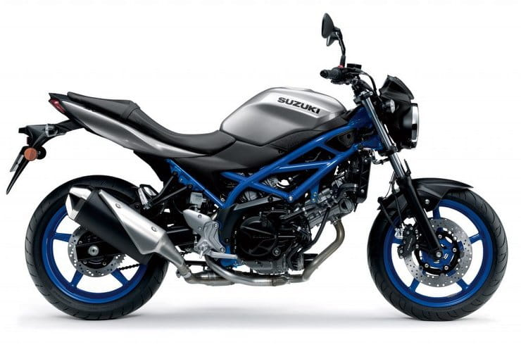 Suzuki's 2020 SV650 colour options