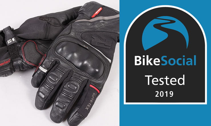 Tested: Richa Atlantic Short GTX gloves review