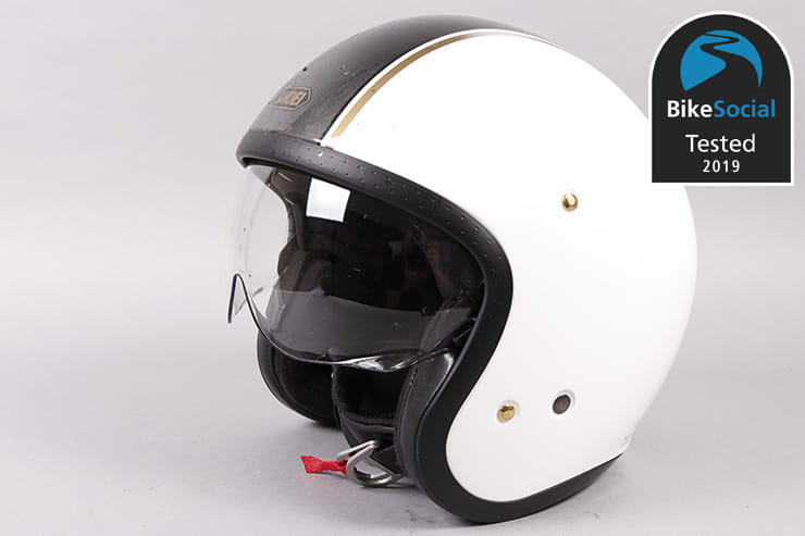 Tested: Shoei J.O Carburettor TC-6 open face motorcycle helmet review