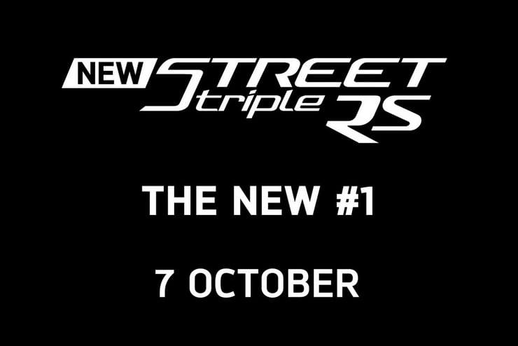 New Triumph Street Triple for 2020 confirmed