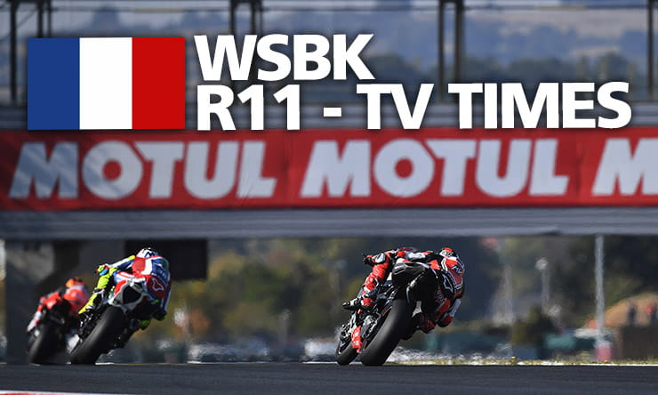 World Superbikes [ Magny-Cours ] - Weekend schedule