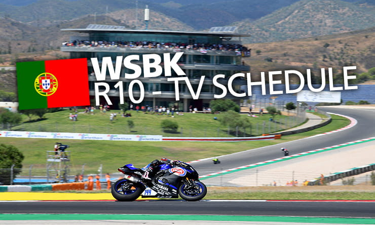 World Superbikes [ Portimão ]- Weekend schedule & TV times | BikeSocial