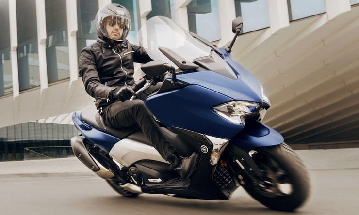 Bigger 562cc engine for 2020 as Yamaha TMax gets Euro 5 updates