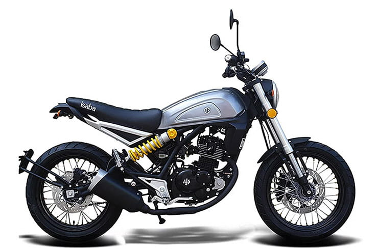 We ride the AJS Isaba 125, a funky adventure scrambler with an attractive sub-£2,500 price tag