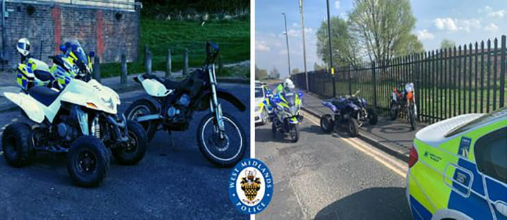 While off-road motorcycles don't need to be registered with the DVLA, only by doing so – for free – can we beat the bike thieves