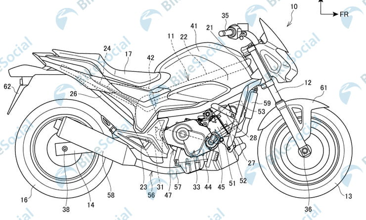 Patents point at complete redesign for future Honda NC750