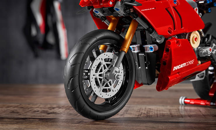 Finally, a Ducati we can all afford as LEGO unveil a Panigale V4 R