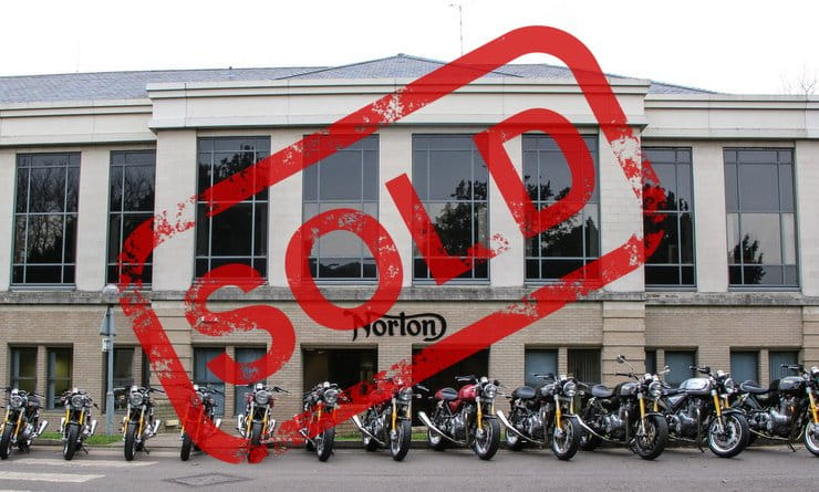 Norton Sold