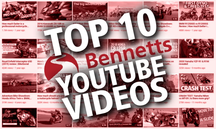 Top 10 Bennetts YouTube Videos