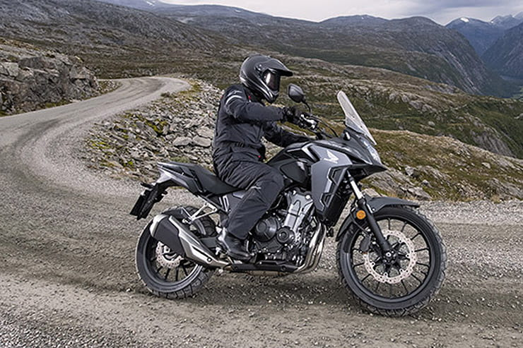 Here's our pick of the current '10 bikes with the longest ranges', with up to 400-miles from tank potentially achievable
