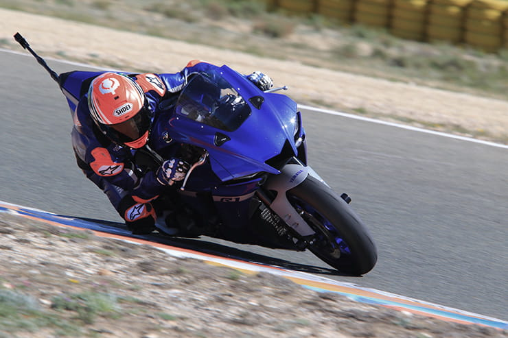 We look at the speed difference between a road-going 2020 Yamaha YZF-R1 and the 2020 McAMS Yamaha R1 to be raced in the Bennetts BSB Championship