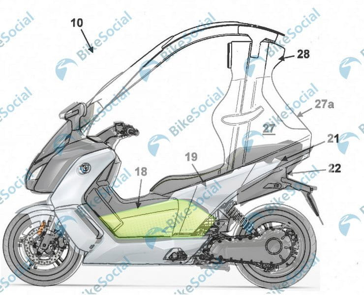 Removable motorcycle safety structure gives BMW design the best of both worlds