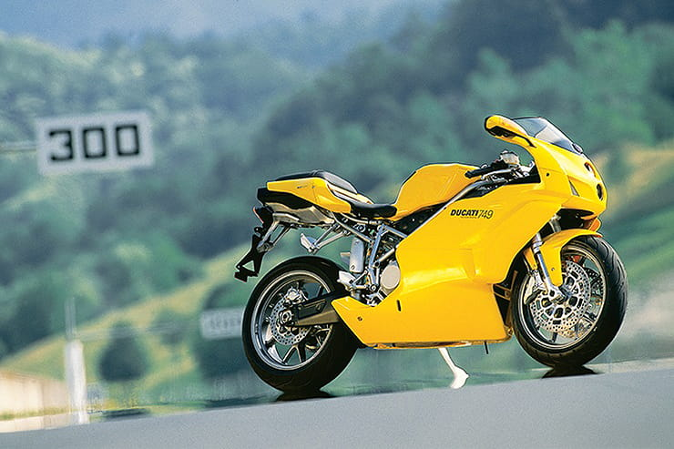 If you want a unique-looking Ducati sportsbike that has just about managed to avoid the old 'future classic' price hike, the 749 is worth considering