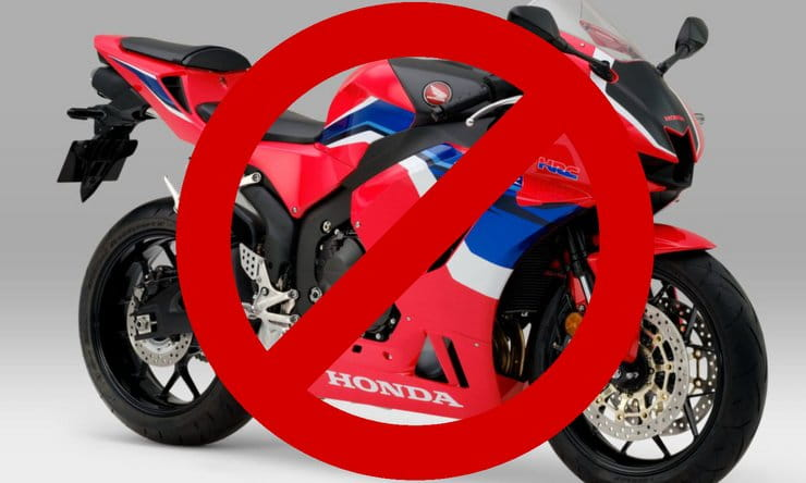 Honda's CBR600RR is getting a 2021 revamp but Europe and the UK won't be getting it