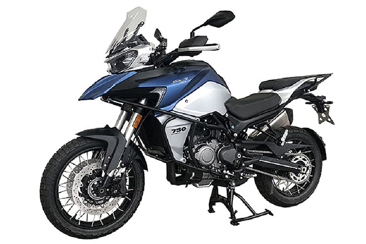 Chinese-made QJMotor SRG750 bike is sister to next year's Benelli TRK800