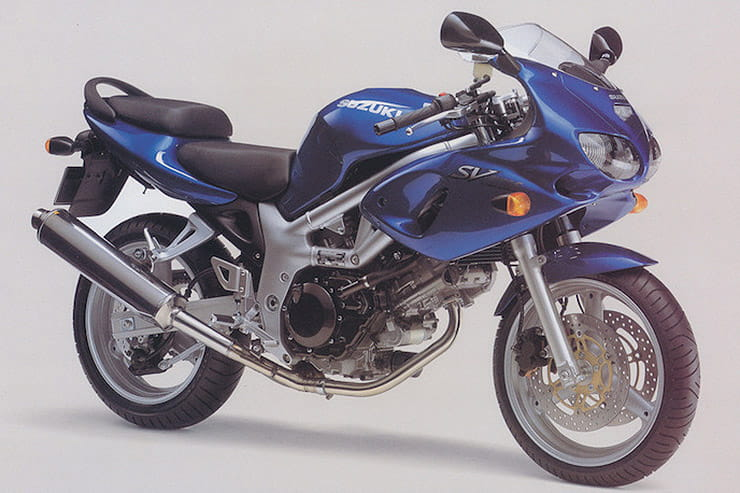 The Suzuki SV650 is one of the best bikes for new