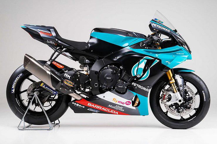 Official 40k Petronas Yamaha R1 Replica Revealed