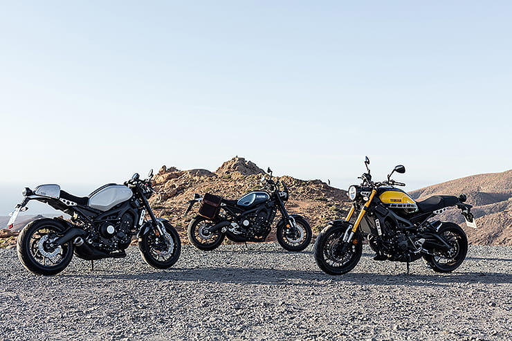 Everything you need to know about Yamaha's retro-inspired naked triple, the XSR900. Pros, Cons, specs and much more | BikeSocial
