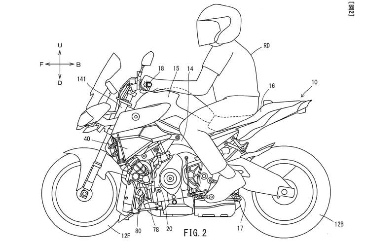 Yamaha Turbo Triple Patent (2)