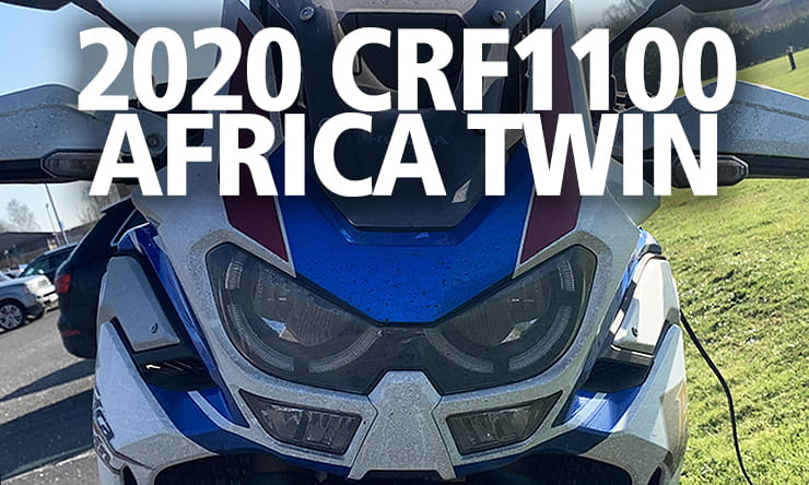 Honda's updated Africa Twin has more power, improved electronics, electronic suspension and better handling. It's about to take on Storm Ciara