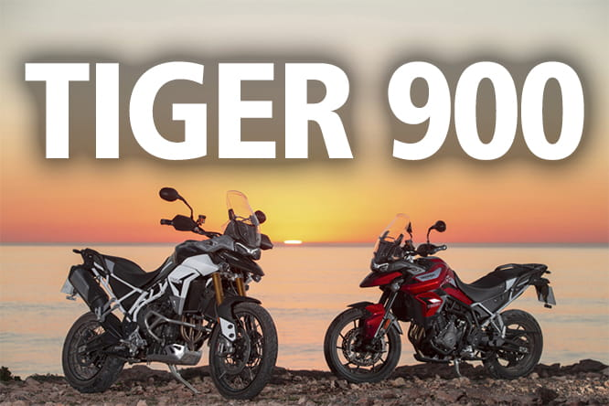 the 2020 Tiger 900 is nothing if not new, new and genuinely, innovatively, definitively, never-been-seen-before new.