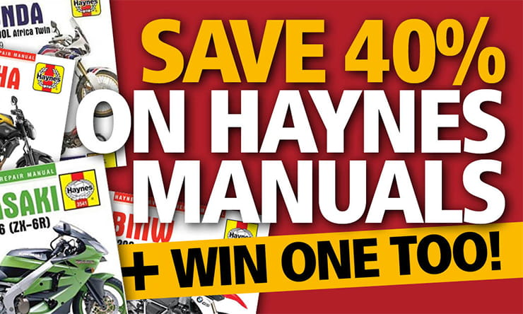 BikeSocial is offering three lucky home mechanics the chance to WIN a Haynes manual of their choice. Enter over on our Facebook page today.